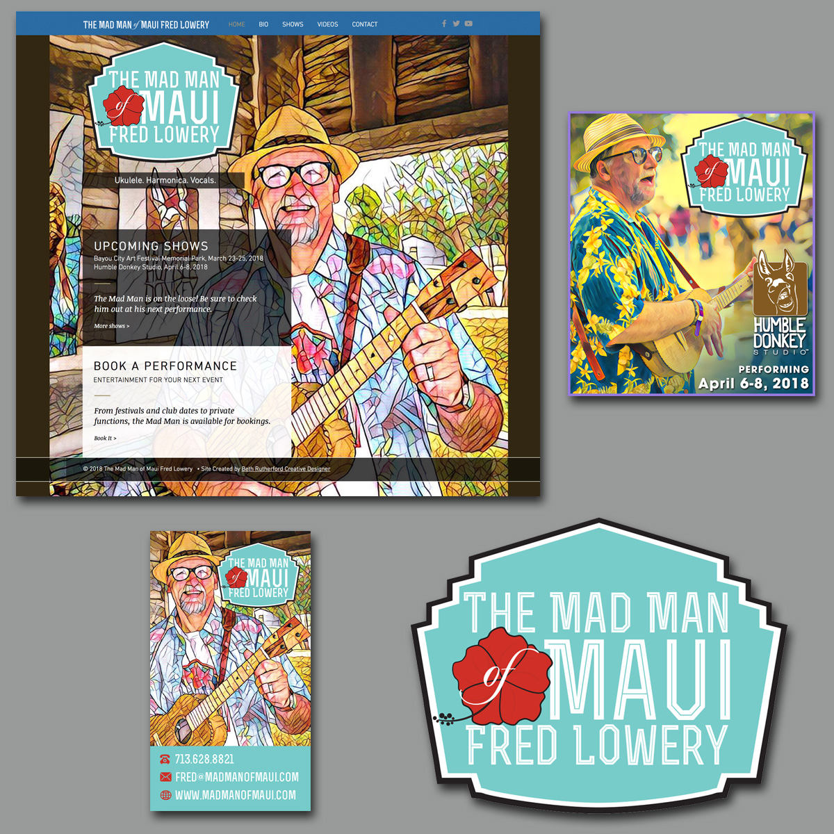 Creative Designer   Mad Man of Maui Fred Lowery